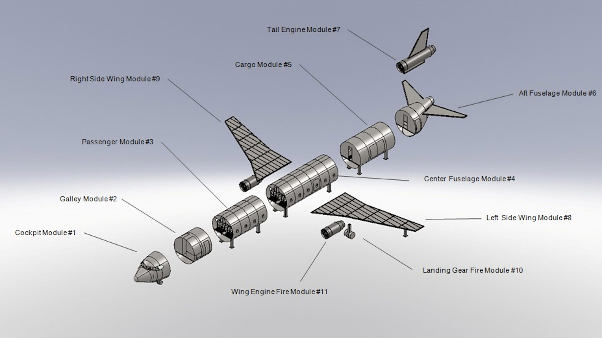 Modular design by Fireblast